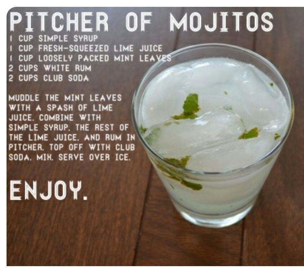 Simple Syrup, Mojito