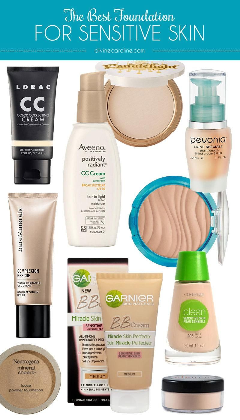 Be Gentle The Best Foundation for Sensitive Skin Makeup