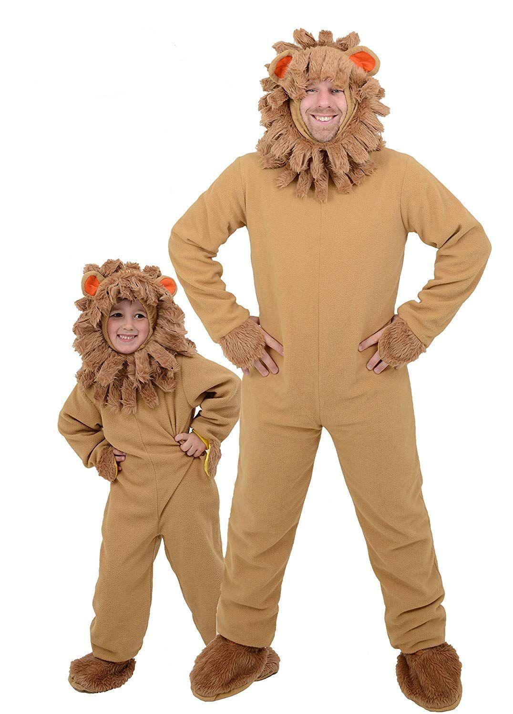 Adult Mens Lion Animal Halloween Costume World Book Day ...