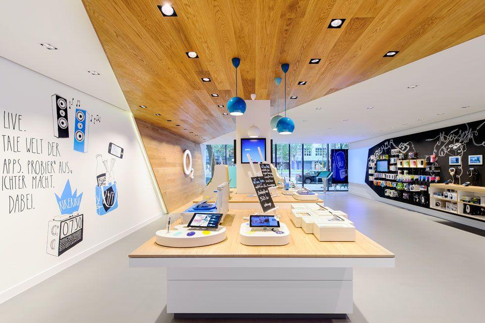 O2 Live Concept Store by hartmannvonsiebenthal, Berlin ...