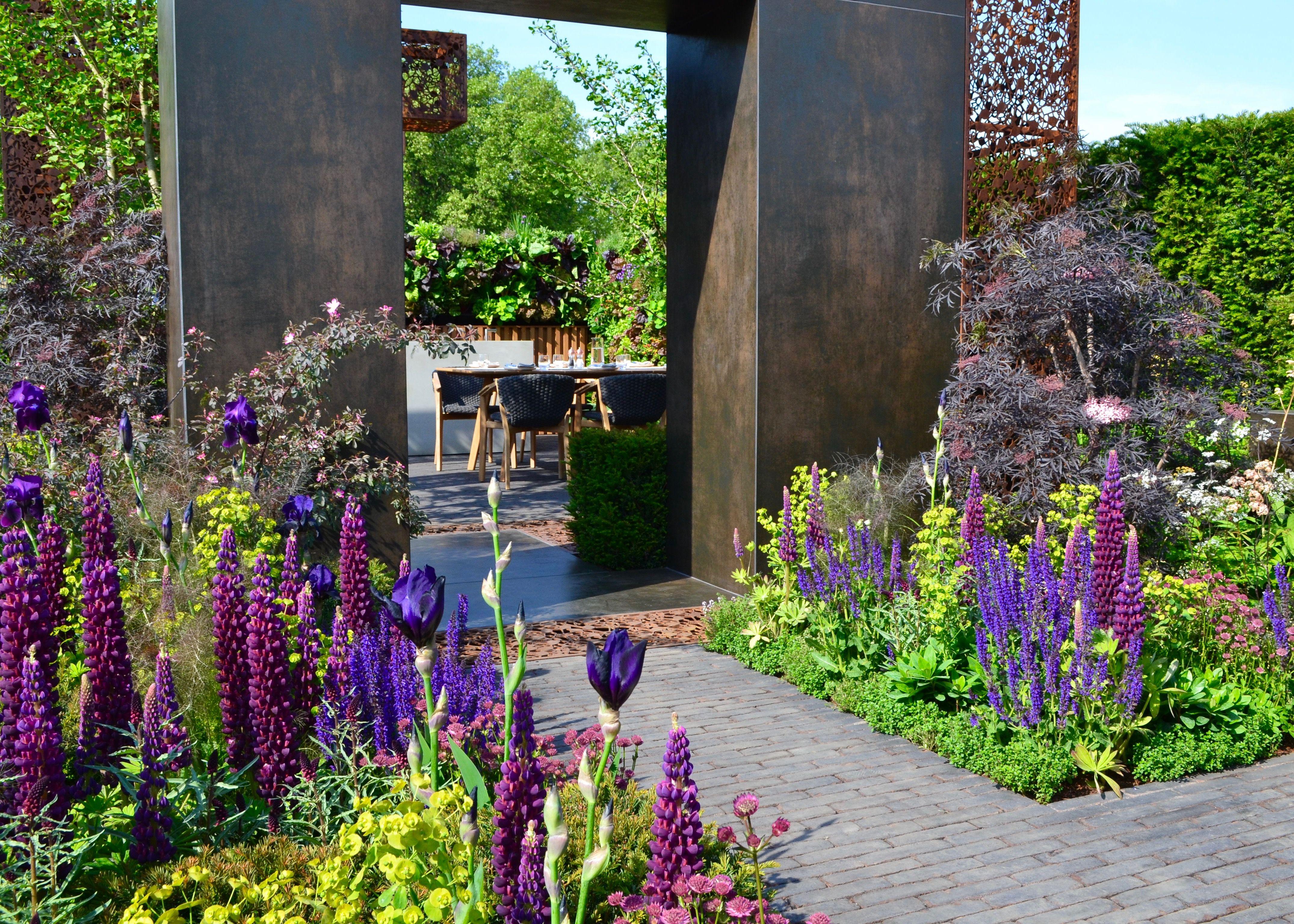 The Urban Flow Garden, a Space to Grow garden Gold Award