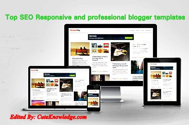 awesome and free seo responsive blogger templates cute knowledge