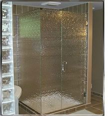 Obscure Glass Shower Enclosure Shower Enclosures Sliding Shower