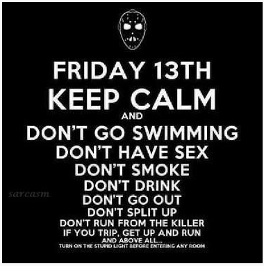 Fab Friday Funny Friday The 13th Hilarity Pinterest Friday