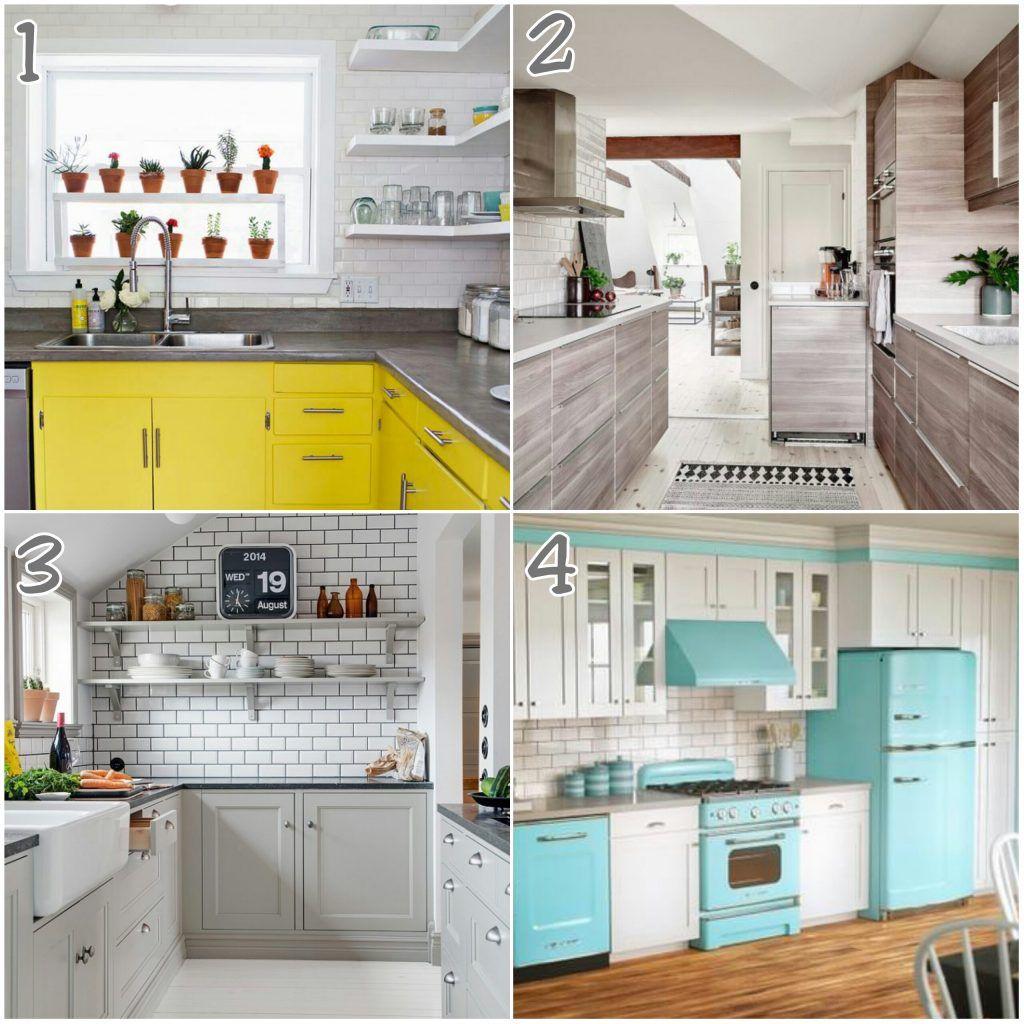 Subway Tiles Kitchen – Cocinas con Azulejos tipo Metro   Cocinas de ...