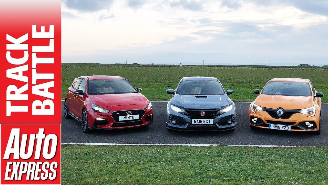 Honda Civic Type R Vs Renault Megane Rs Vs Hyundai I30n Hot