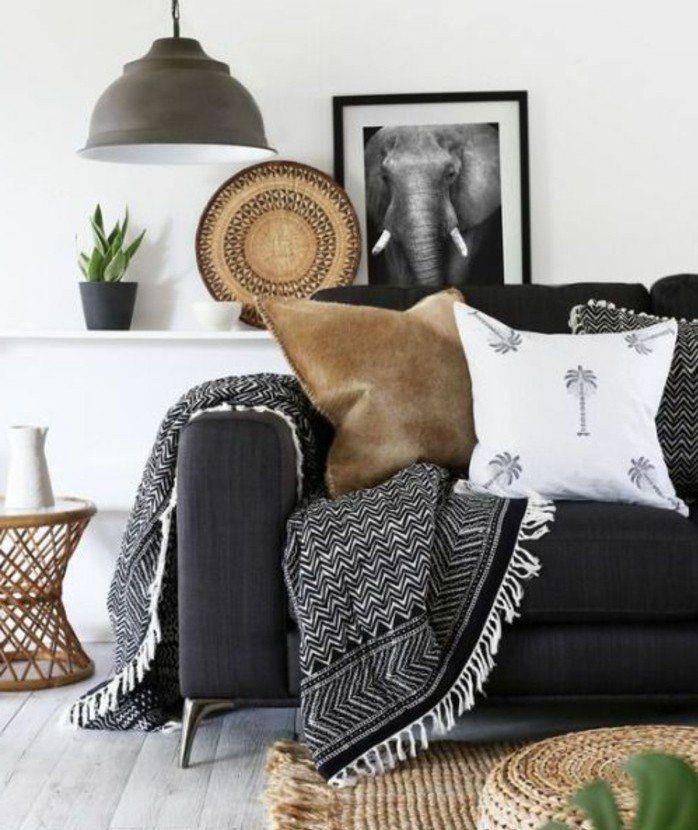 Déco salon gris - 88 super idées pleines de charme Salons and Room
