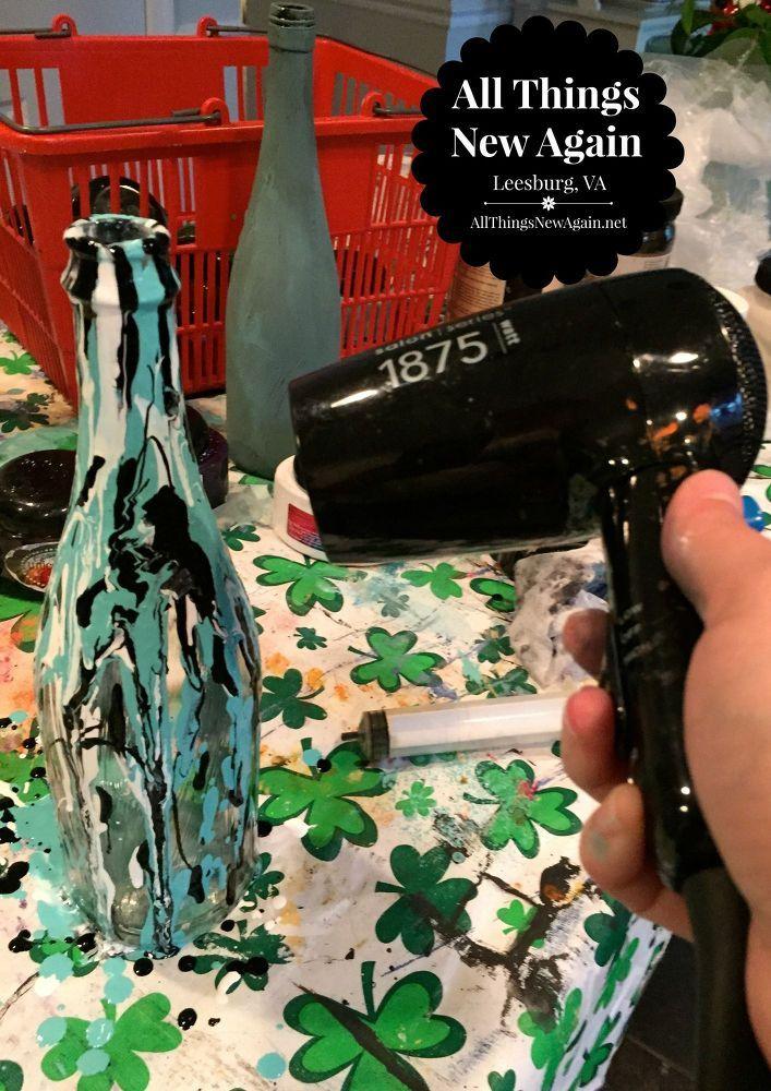 Transform An Ordinary Wine Bottle With Unicorn Spit Wine
