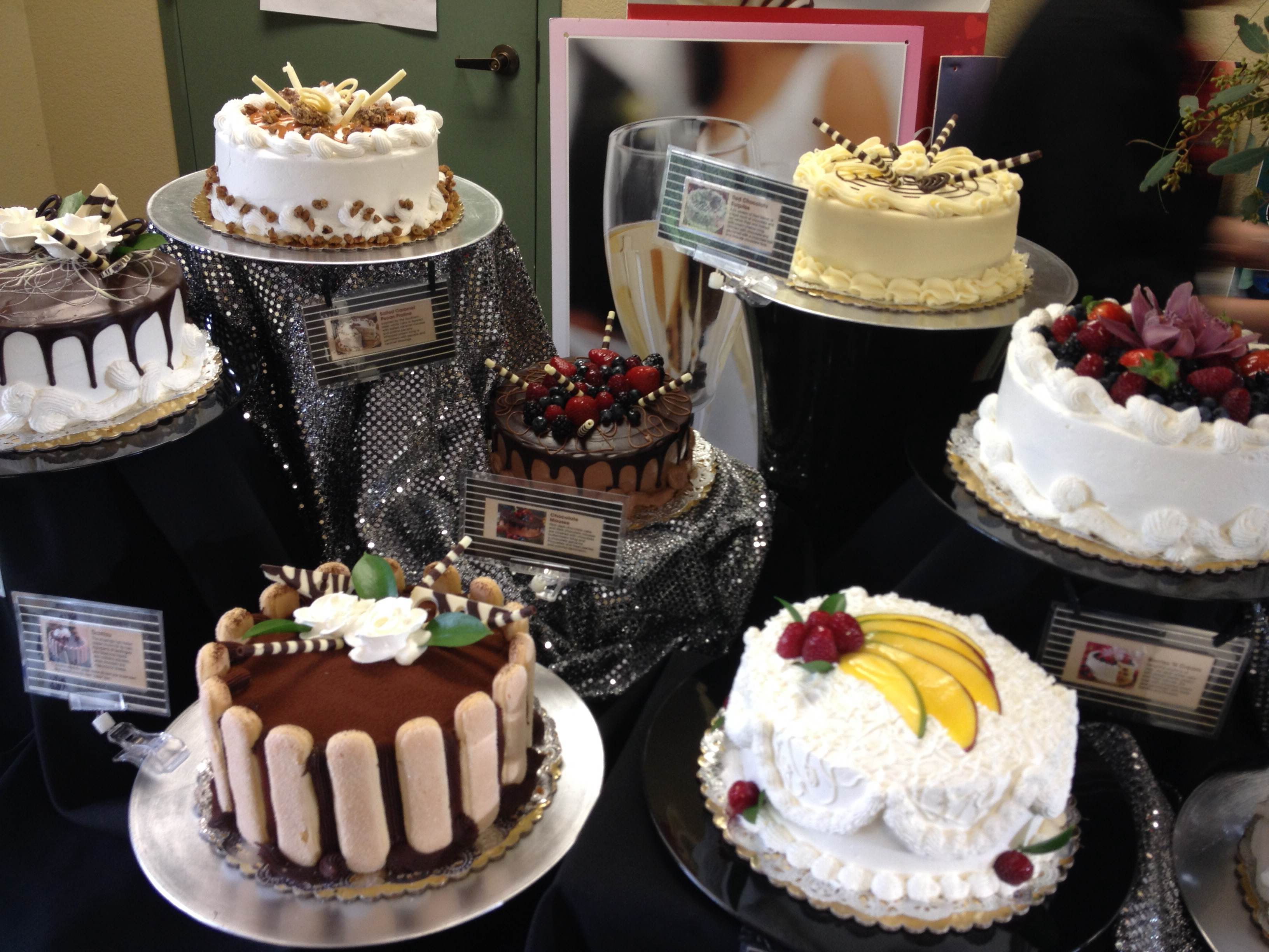 Satisfy your sweet tooth with desserts from AJ's fine