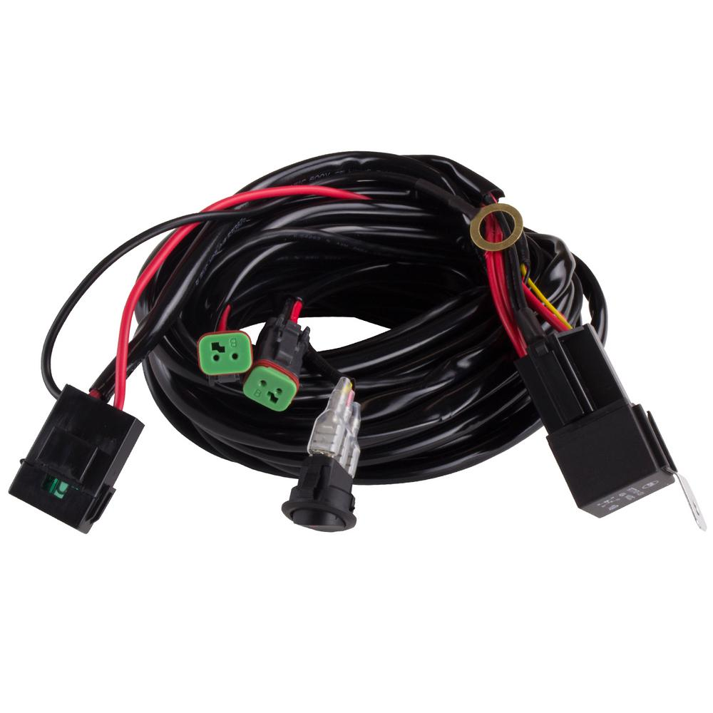 Wiring Harness 2 Light With Quick Change Plug Products Electrical Jacket The Blazer Is Compatible Any Led Hid Or Halogen Off Road Bar Work Auxiliary Features Two Connect