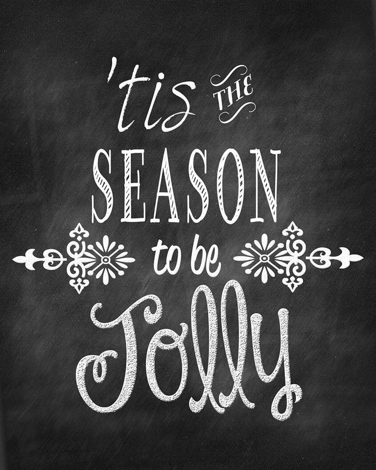 'Tis the season to be jolly.