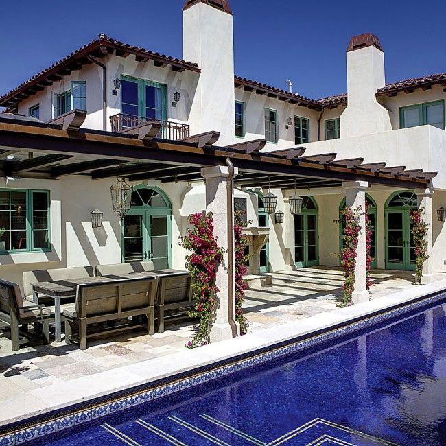 Mediterranean Style Architecture: Spanish Mediterranean Pacific Palisades, California RLB