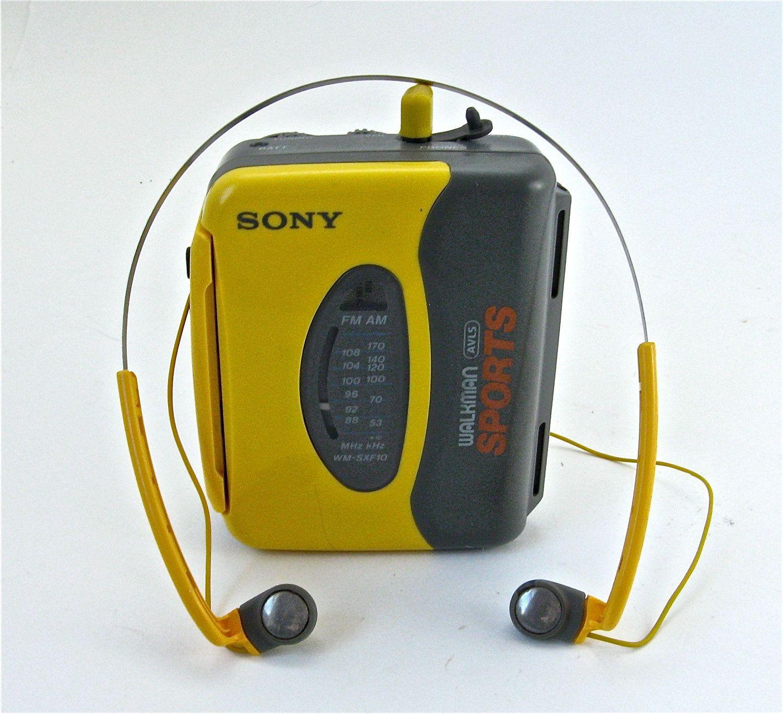 Vintage Sony Walkman Sport | Sony walkman, Walkman, Sony