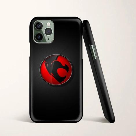 3D Thundercats Logo Black Wallpaper iPhone 11 Pro Max Case