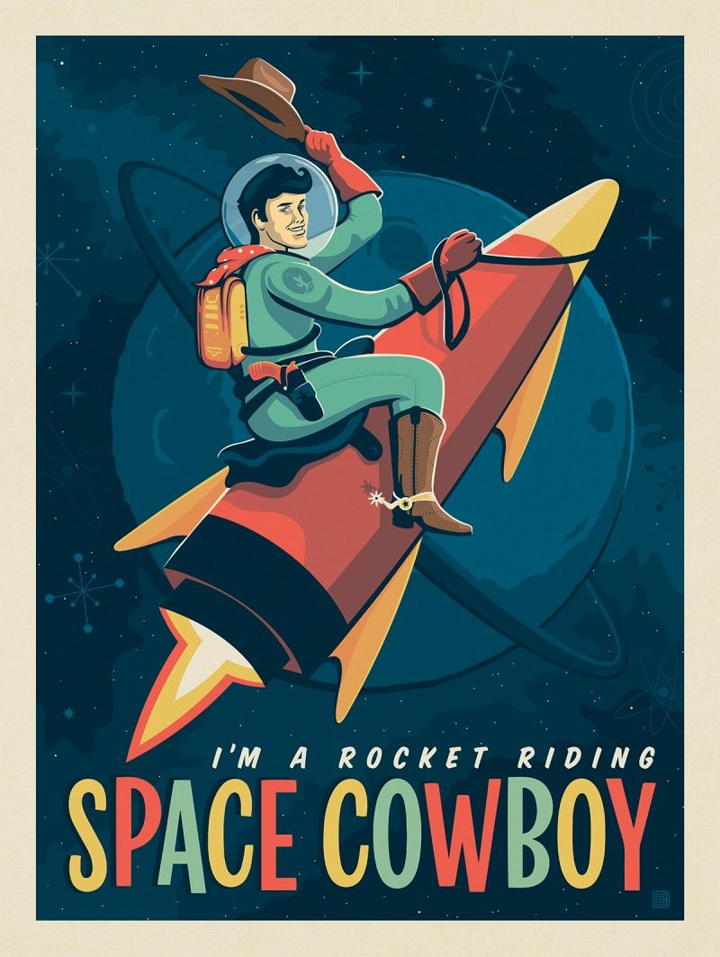 Space Cowboy Anderson Design Group Space Travel