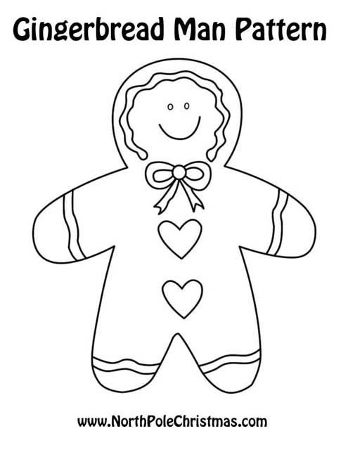 Gingerbread Man Patterns   V   Pinterest