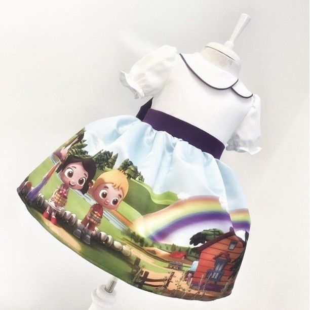 Photo of Niloya Dress- 7-9 years old Clothes and Accessories> Clothing …