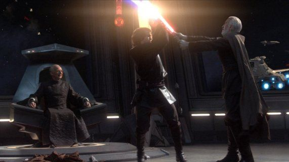 A Look Back Star Wars Revenge Of The Sith Star Wars Episodes Star Wars Star Wars Awesome