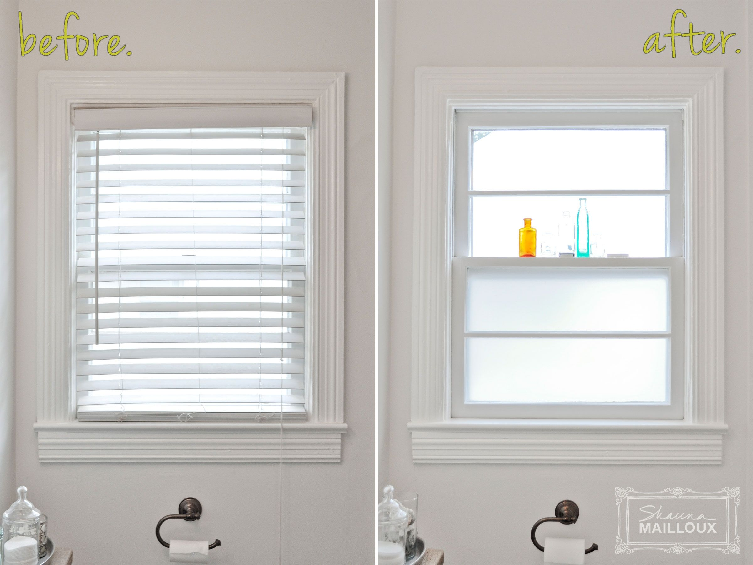 Interior Frosted Gl Bathroom Window Vintage Kitchen Home Treatments Ideas