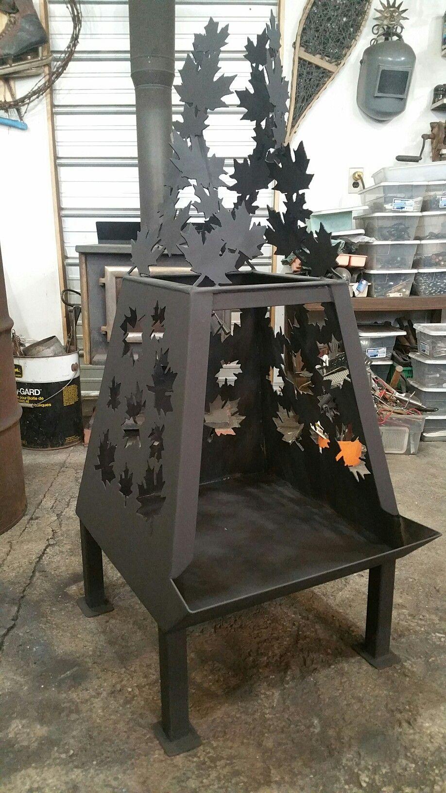 Welded Custom Fire Pit Archetype Metal Creations Custom Fire Pit