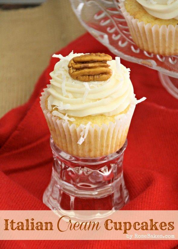 Italian Cream Cheese Cupcakes Recipe Cake Cupcake Perfection