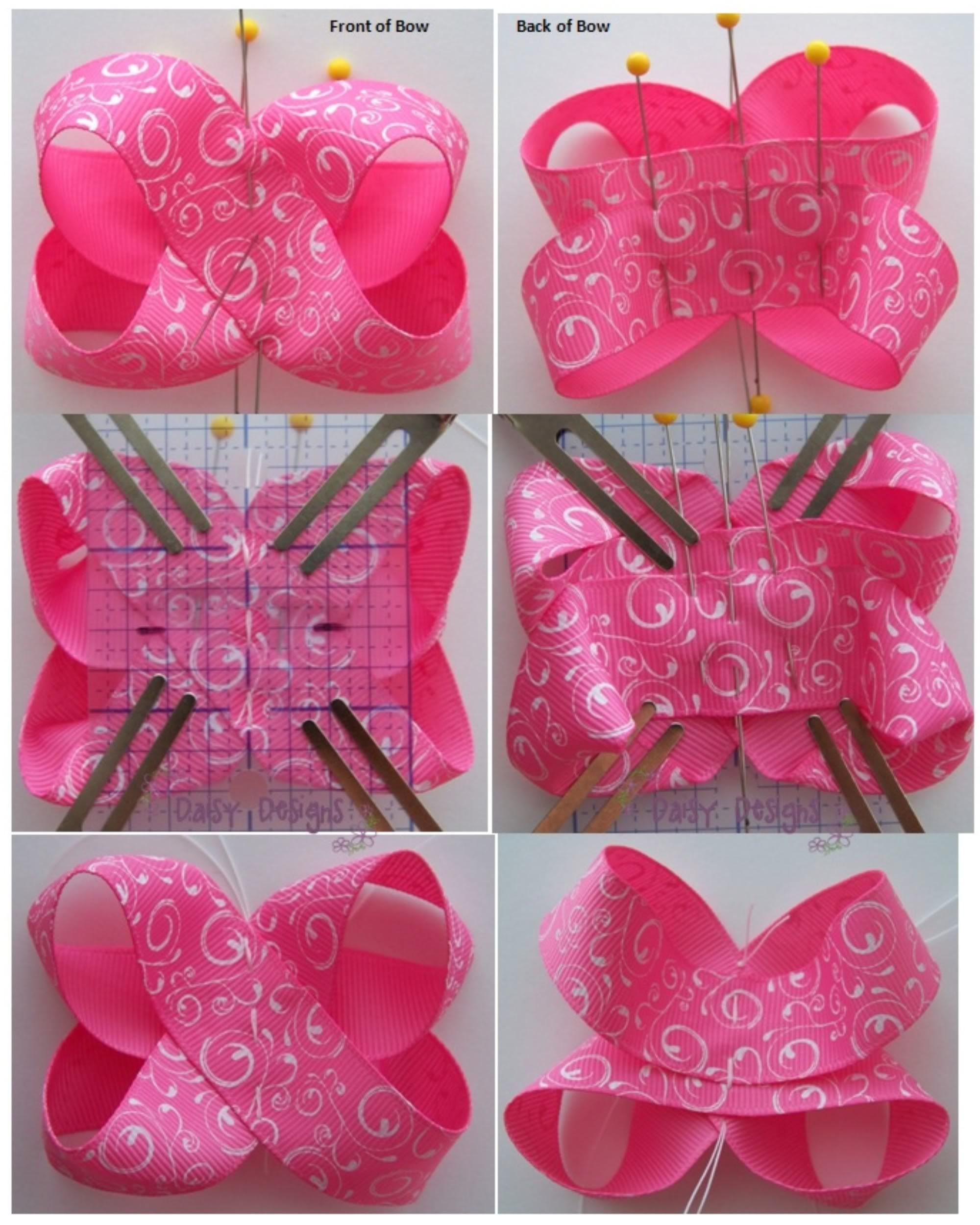 Big southern style hairbows 7 inches bowtutorial hairbows twisted boutique bow instructions photo boutiquebowpage10g baditri Image collections