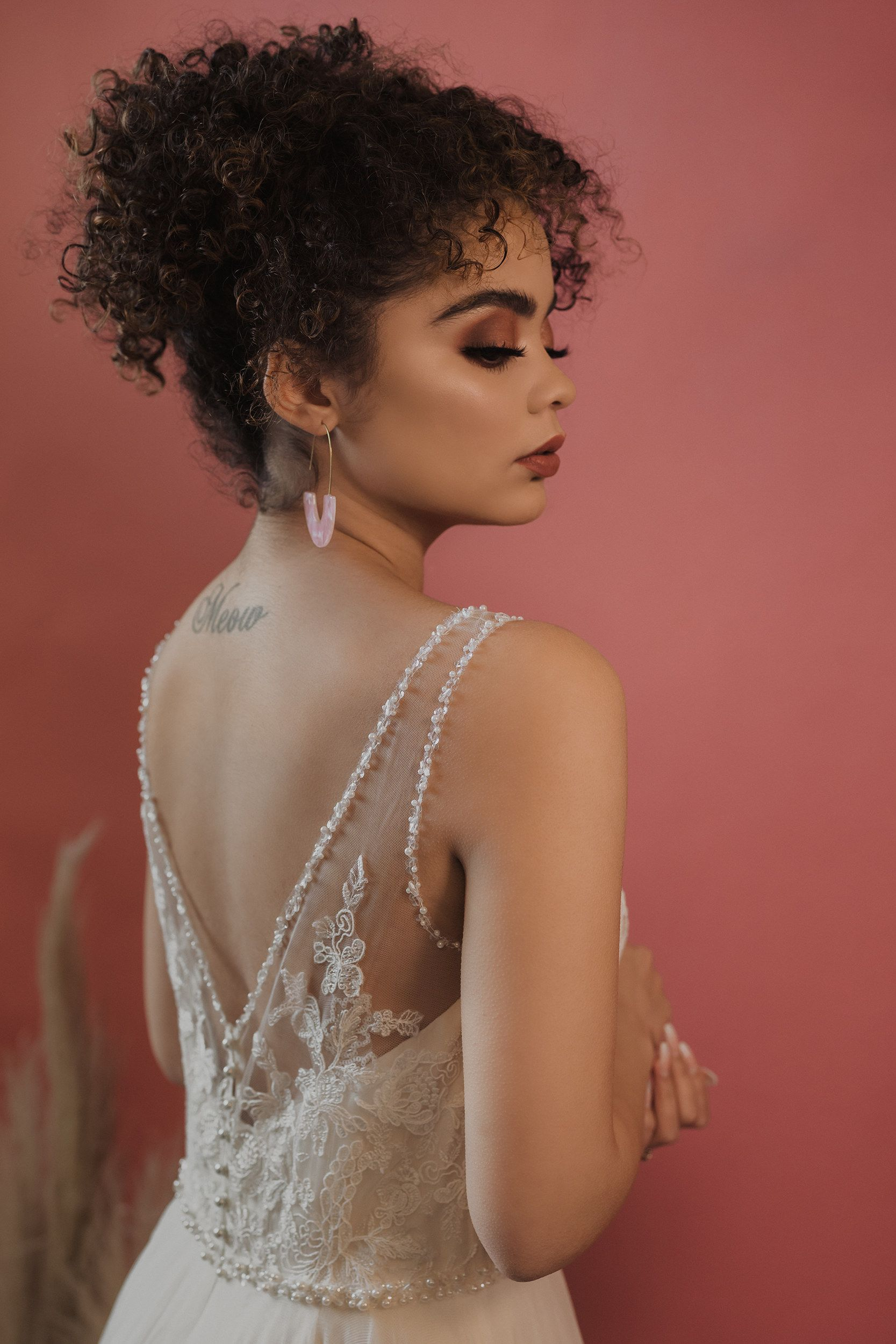 Oklahoma Bridal Makeup + Natural Hairstyles Bridal hair