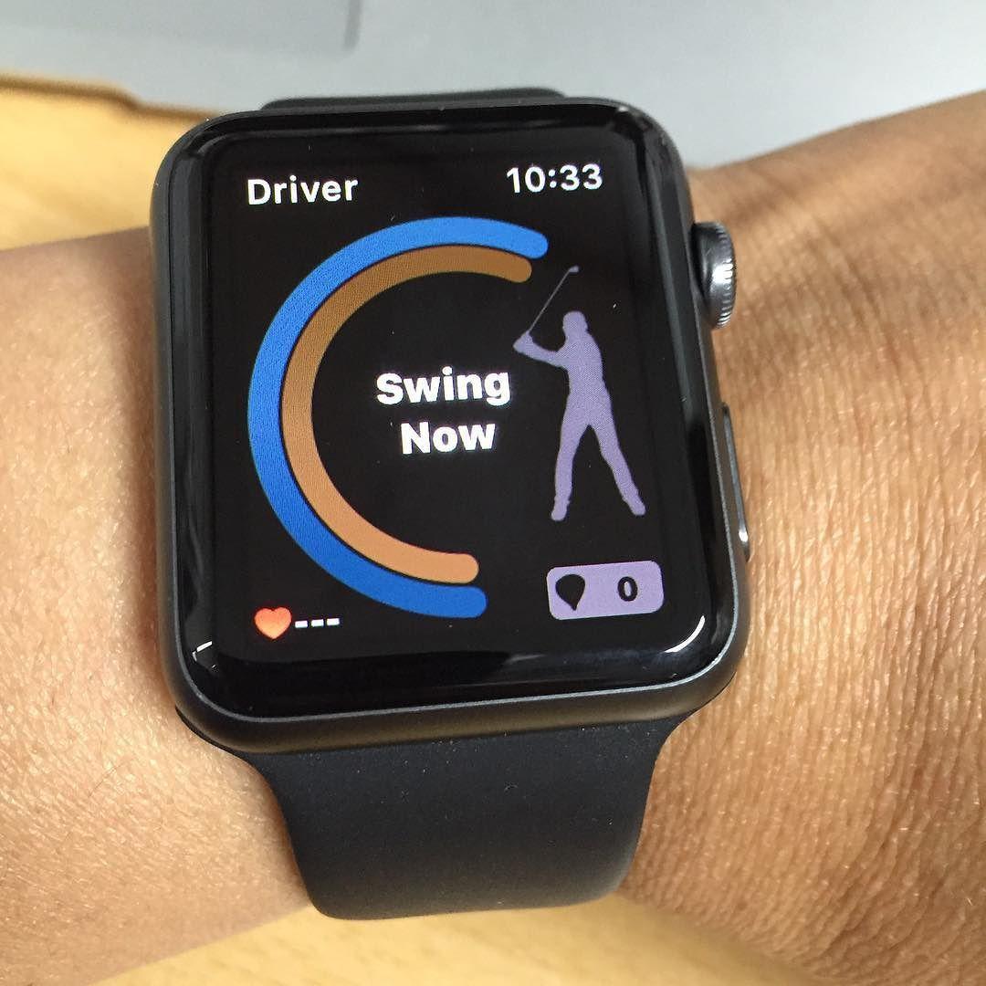 best golf swing analyzer app apple watch