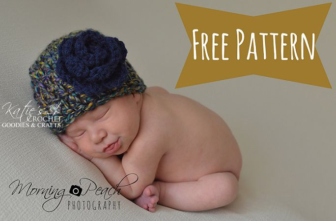 Free Chunky Crochet Newborn Hat Pattern Baby Creations Pinterest
