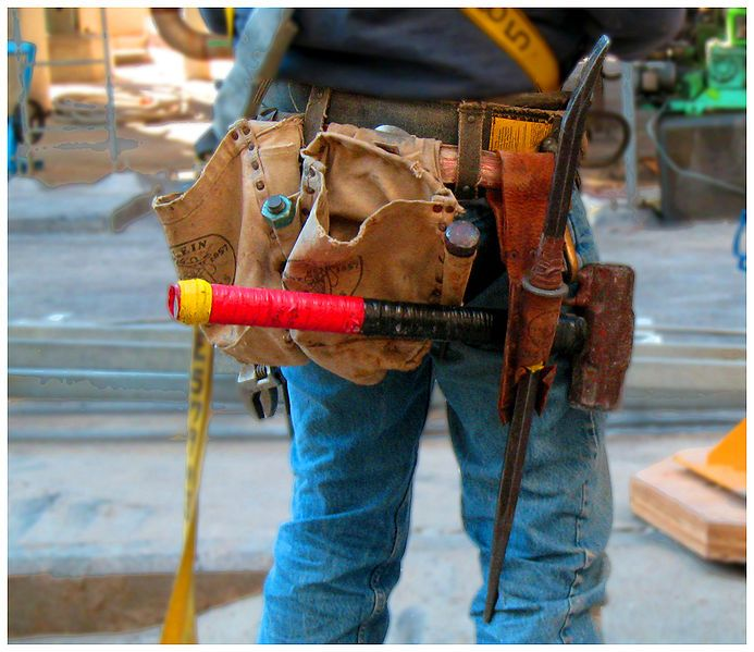 ironworker #workwear #industrial #boots #sleeverbar #beater #harness ...