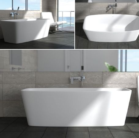 Stone Bath to match stone basins