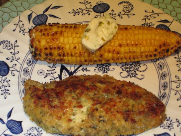 Grilled Corn on the Cob With Jalapeno-Lime-Butter