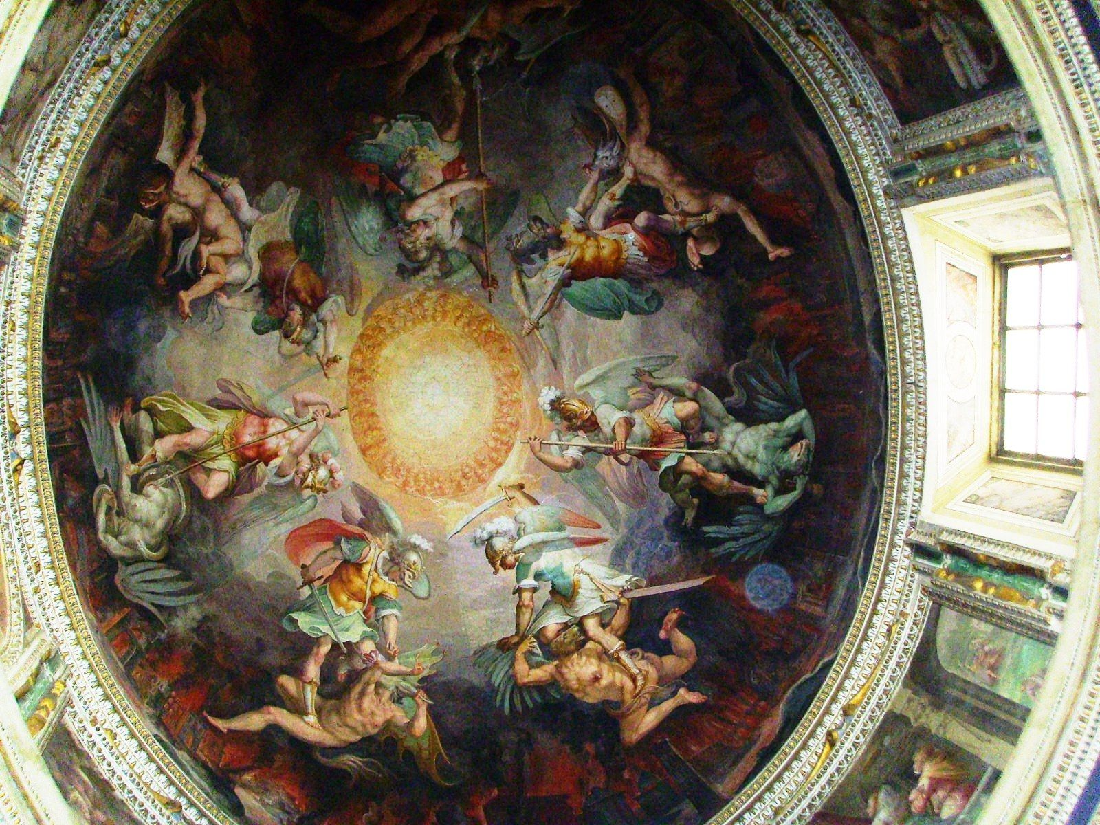 18 michelangelo paintings on the ceilings michelangelo for Painting on ceiling