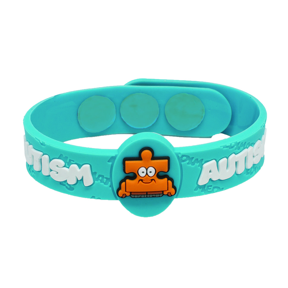 he charm awareness my am autism heart his i is voice products bracelet