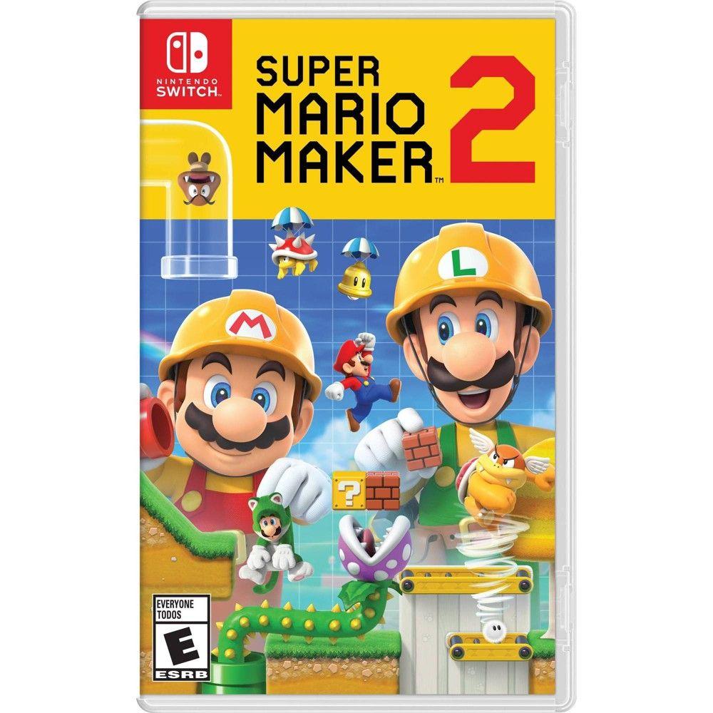 Super Mario Maker 2 Nintendo Switch Nintendo Switch Super Mario Nintendo Switch Games Super Mario