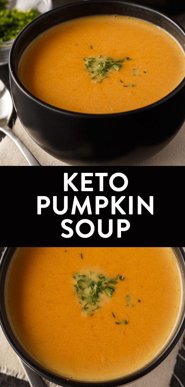 Keto Pumpkin Soup | The Bewitchin' Kitchen