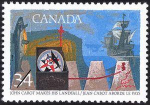 John Cabot makes his Landfall
