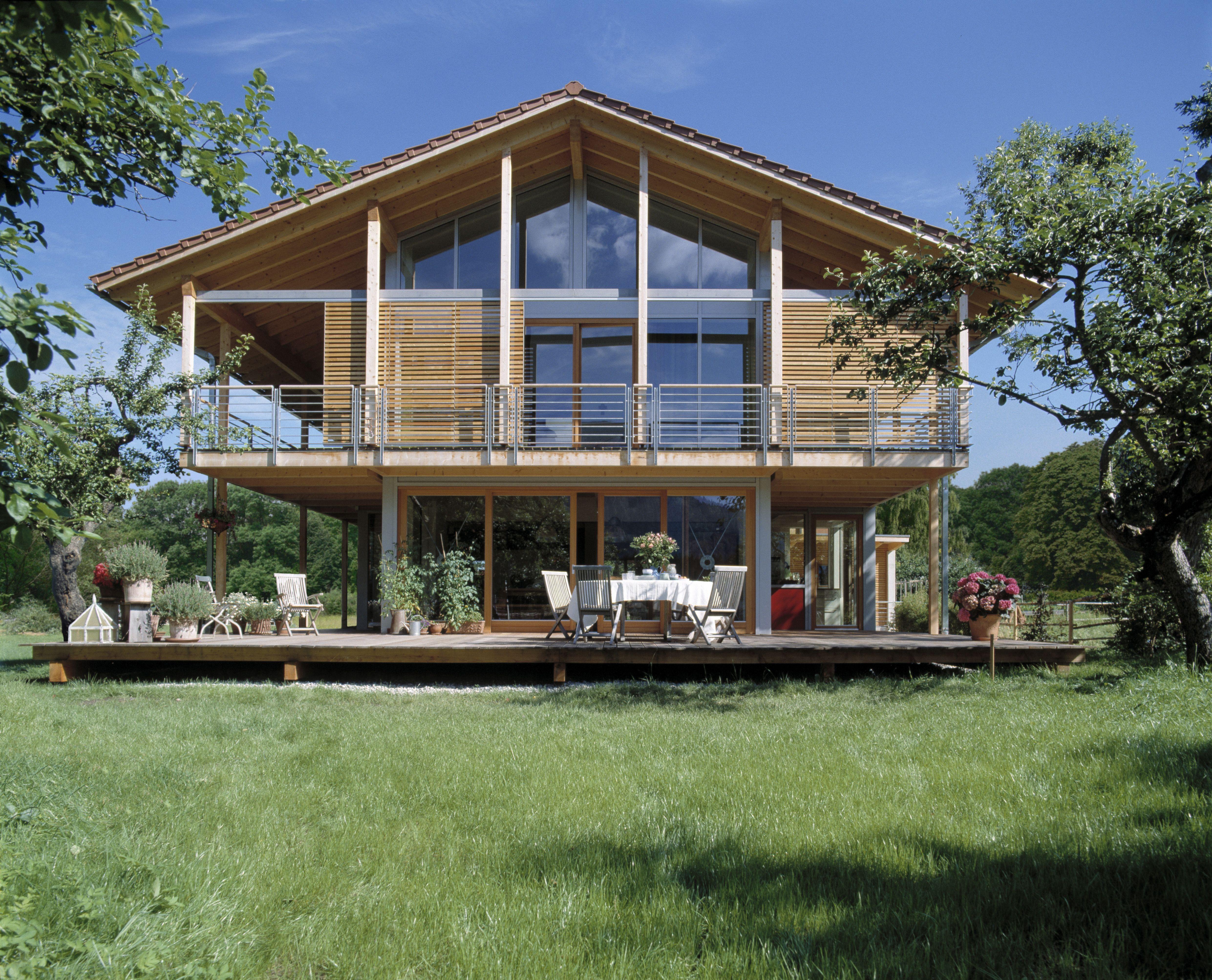 Ökologisches Bauen - das Bau-Fritz Haus Schauer Häuser ...