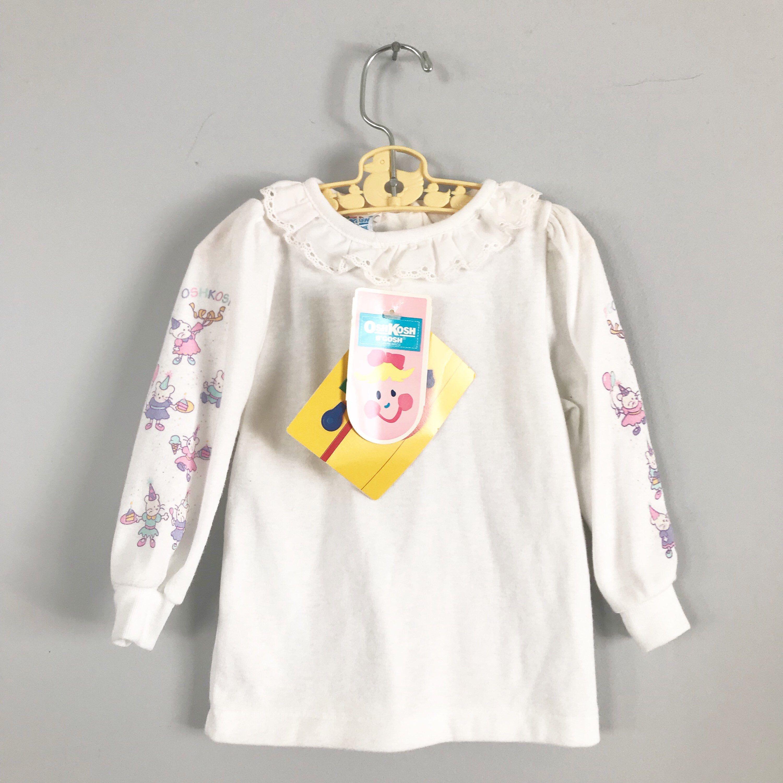 Super Soft Oshkosh New Old Stock Birthday Mouse Longsleeve Shirt