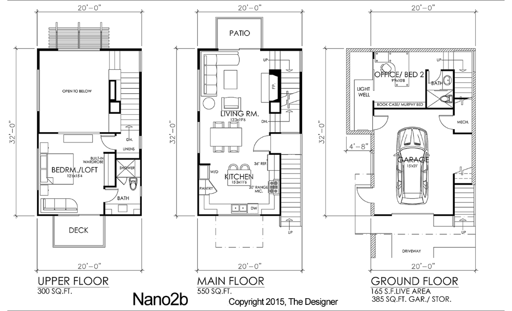 Floor Plan Image Of Nano2 Modern Style Floor Plans Floor Plans House Plans