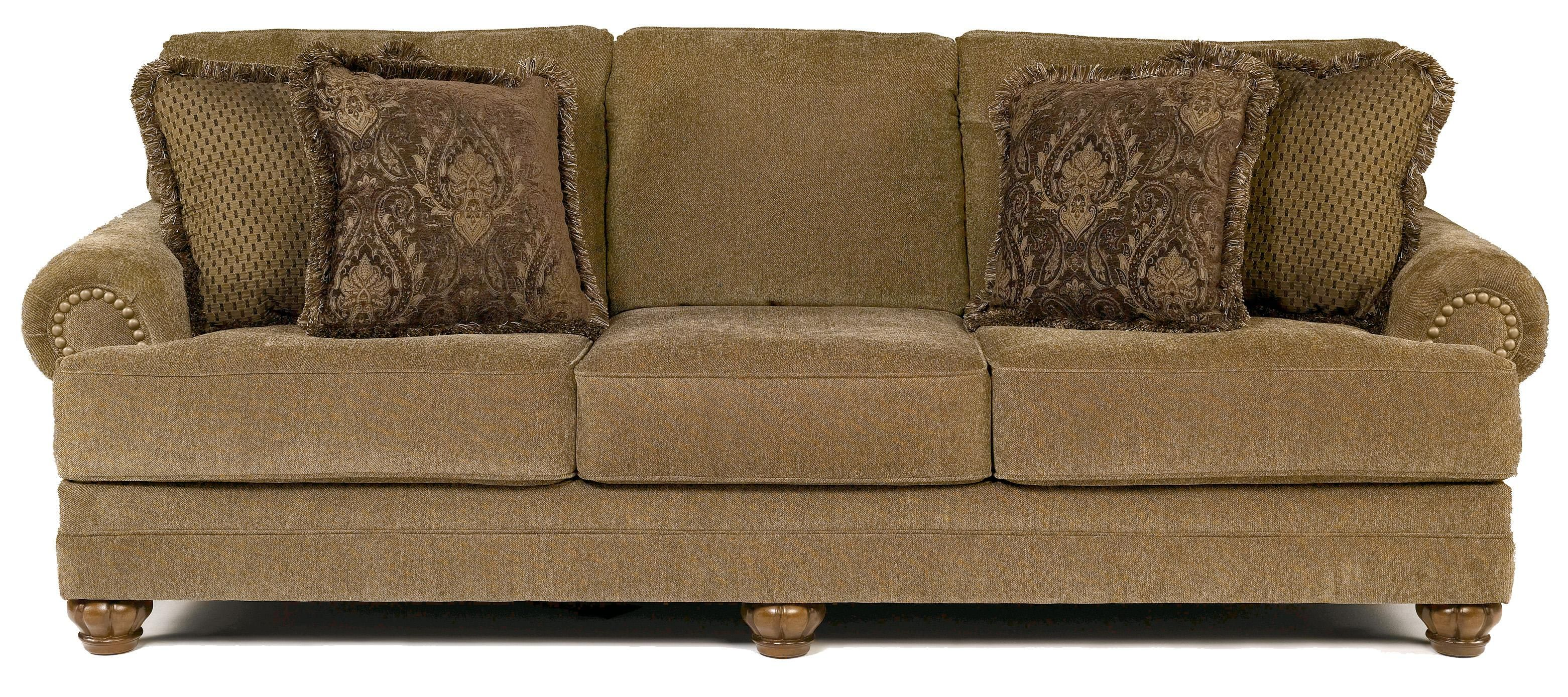Stafford Antique Traditional Stationary Sofa By Signature Design