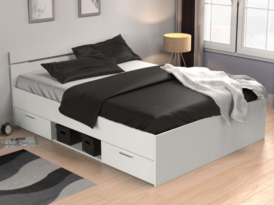 Boxspringbett  - schlafzimmer set weiß
