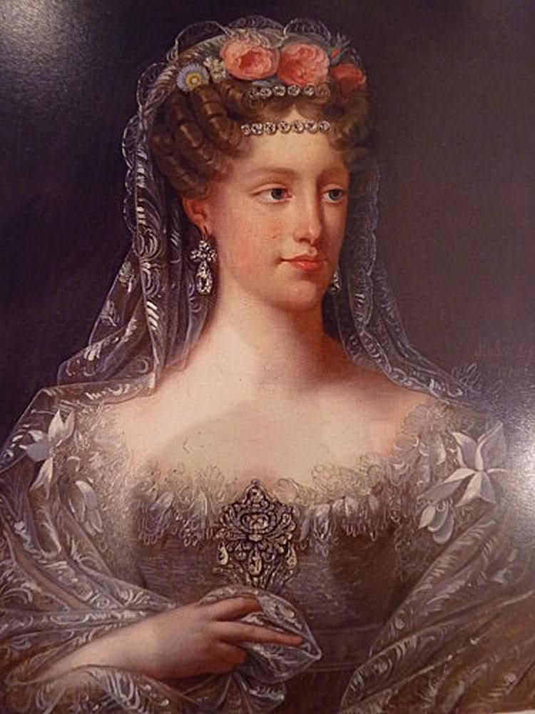 The Duchess of Berry, 1820, by Robert Lefèvre (French, 1755-1830).