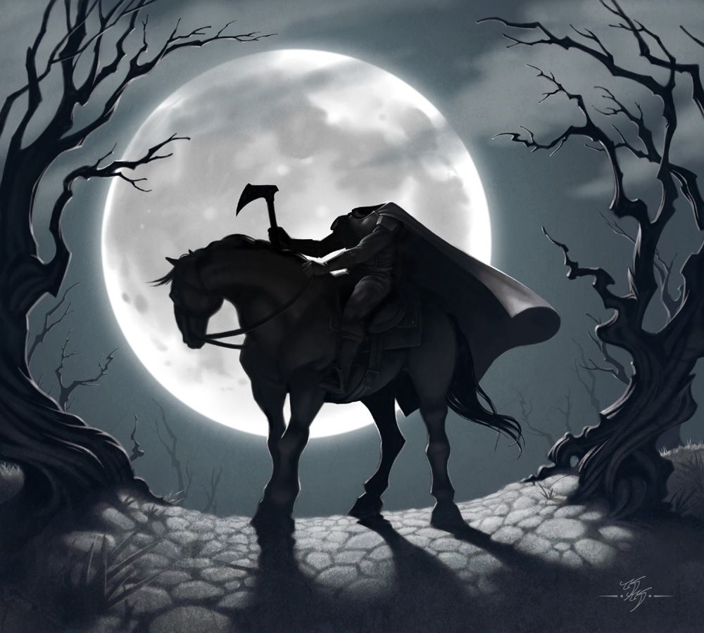 Avalanche Software Art Blog The Legendary Haunt Of Sleepy Hollow Sleepy Hollow Headless Horseman Headless Horseman Legend Of Sleepy Hollow