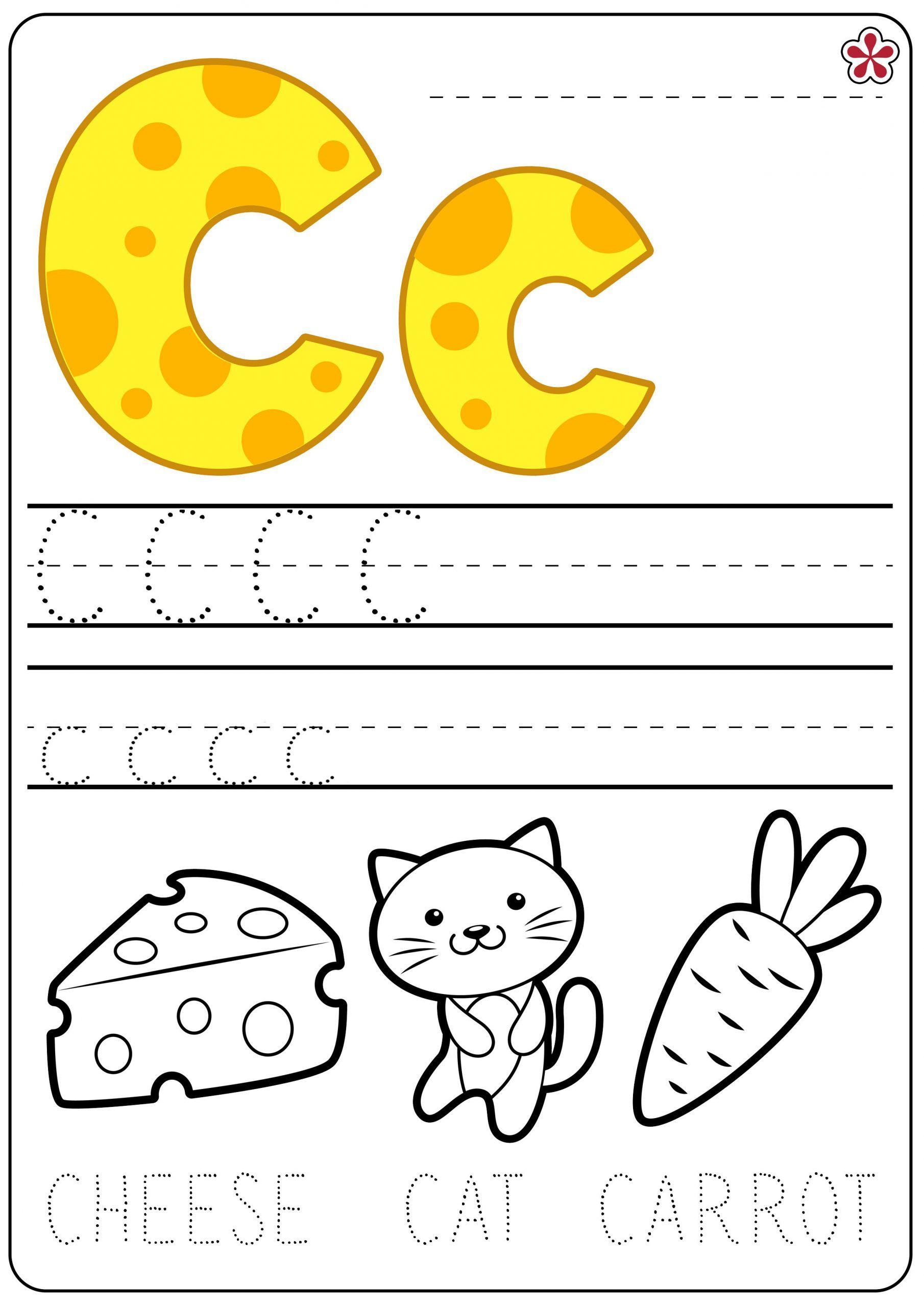 Printable Letter C Worksheets In 2020 Preschool Letters Kindergarten Worksheets Preschool Worksheets