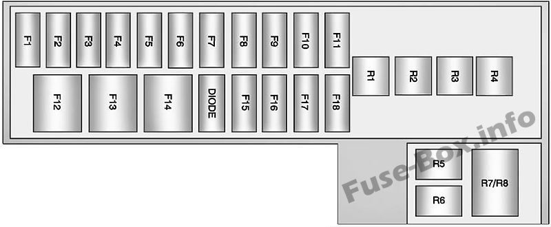 [SCHEMATICS_4PO]  Trunk fuse box diagram: Chevrolet Volt (2013, 2014, 2015) | Chevrolet volt, Fuse  box, Chevy volt | Chevrolet Volt Fuse Box |  | Pinterest