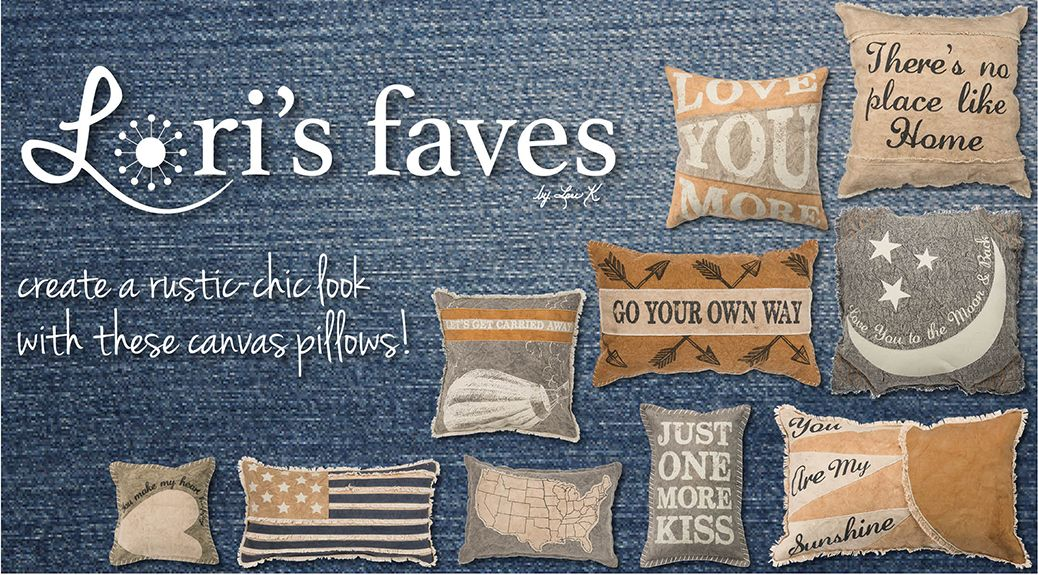 Lori's Faves for August: Decorative Pillows