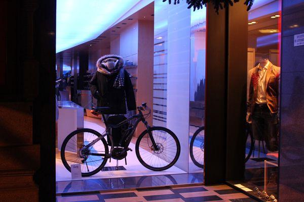 """In bicicletta anche d'inverno. Siamo """"eco""""!"""
