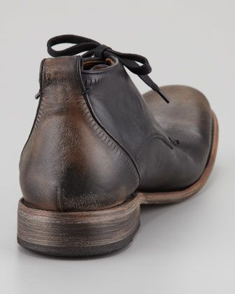 92ac1560197f John Varvatos Bowery Etched Chukka Boot, Black Sand - Bergdorf Goodman