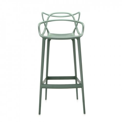 Kartell Masters Large Stool in Sage at Heal\'s   Bright & Bold ...